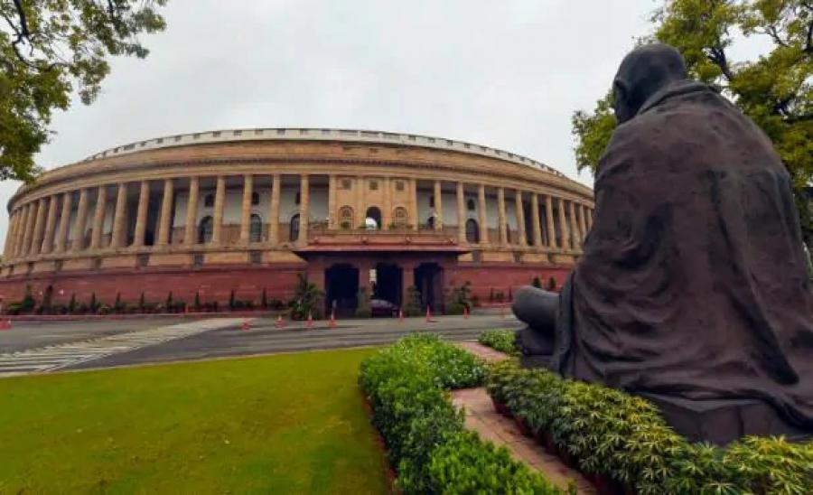 संसद की एनेक्सी बिल्डिंग में लगी आग, दमकल की 4 गाड़ियां मौके पर